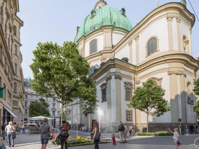 Weniger Verkehr und mehr Bäume für den Petersplatz