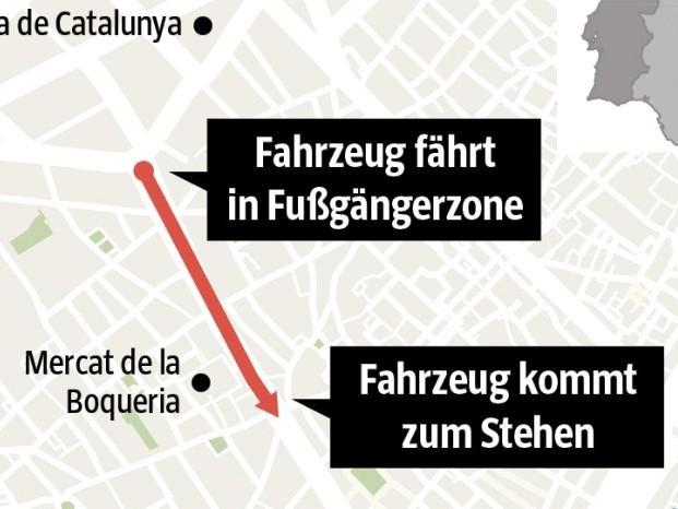 Was wir über den Anschlag von Barcelona wissen