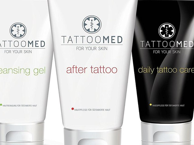 Tattoomed Pflegeserie - Pflegeserie für Rundum-Versorgung von Tattoos