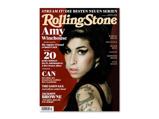 ROLLING STONE im Juli 2021 – Titelthema: Amy Winehouse