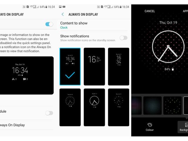 Workaround: Always On Display für alle Samsung-Smartphones mit Nougat
