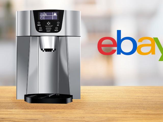 Ebay: Eiswürfelmaschine von Kesser zum Tiefpreis