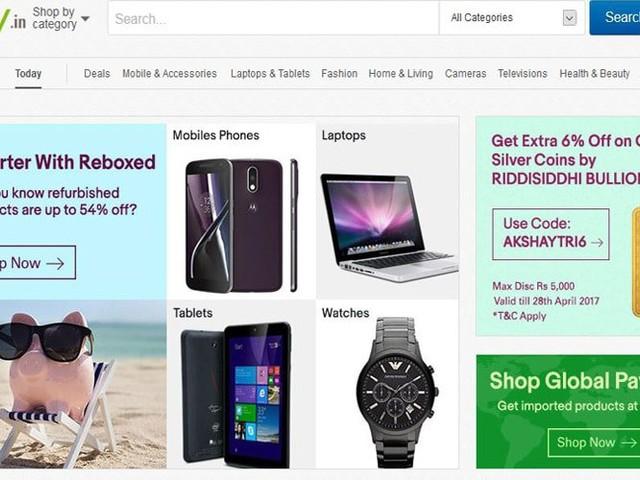 Flipkart übernimmt eBay in Indien