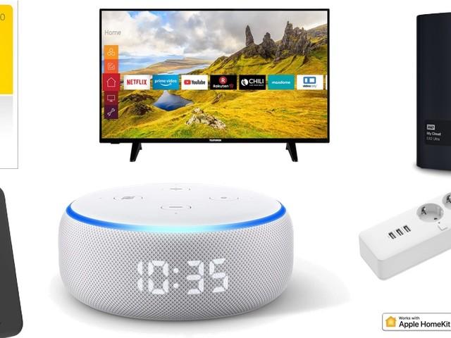 Amazon Blitzangebote: Rabatt auf 2TB + 4TB ext. Festplatten, WISO Steuer 2020, HomeKit Mehrfachsteckdose, 4K TVs, Echo Dot, Devolo Powerline und mehr