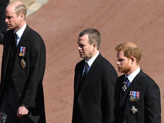 Prinz Harry zwischen William und Kate: Gespräch nach der Beerdigung von Prinz Philip