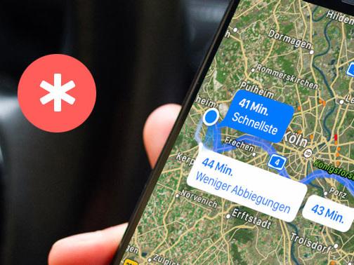 iOS 14.5: Radrouten, Verkehrsmeldungen, Ankunftszeit