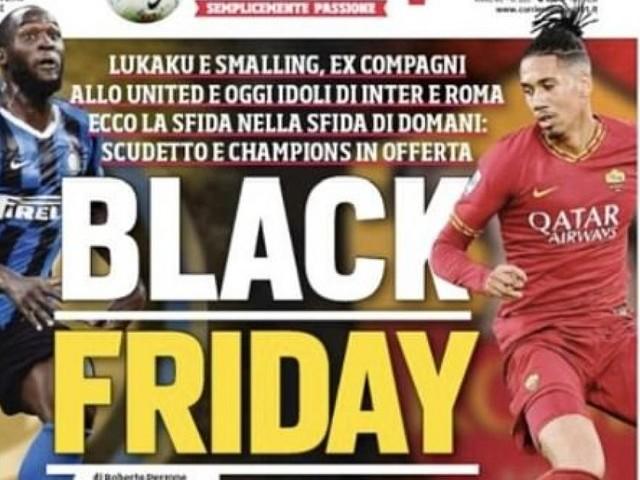 """""""Black Friday"""": Eine Titelseite sorgt für Entsetzen in Italien"""