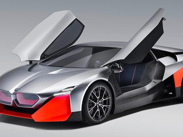 BMW Vision M Next - Damit wollen sie Tesla jagen? BMW zeigt neuen Hybrid-Sportwagen