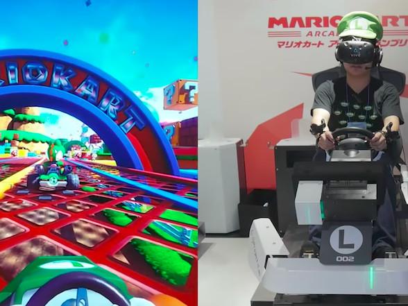 Episch: Mario Kart VR