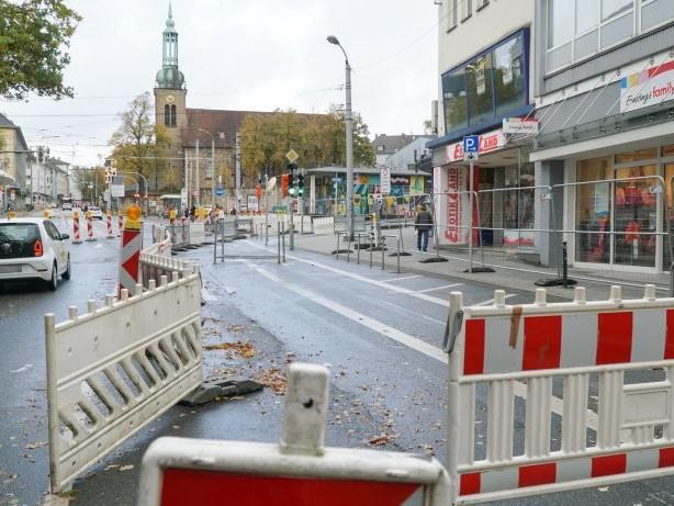 Bauarbeiten: Ärger wegen Bauarbeiten an der Ruhrstraße