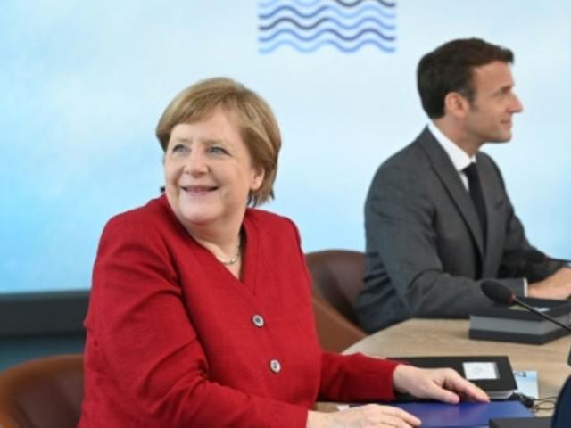 Merkel empfängt Macron zu Vorbereitung auf EU-Gipfel