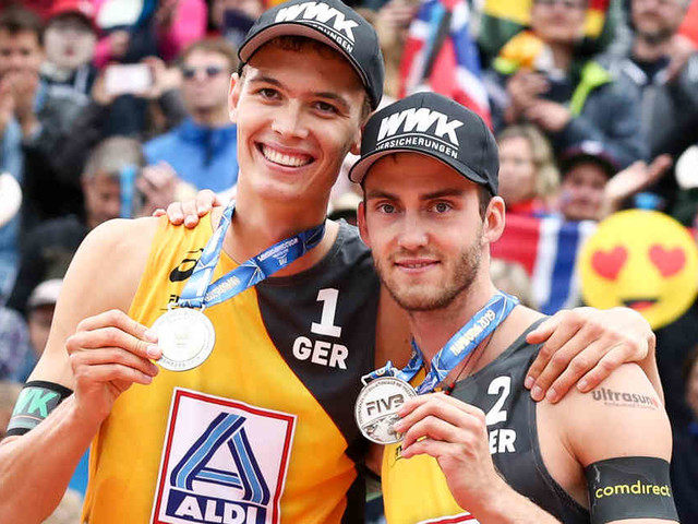 Welttour-Turnier in Portugal: Beach-Duo Thole/Wickler mit starkem Start