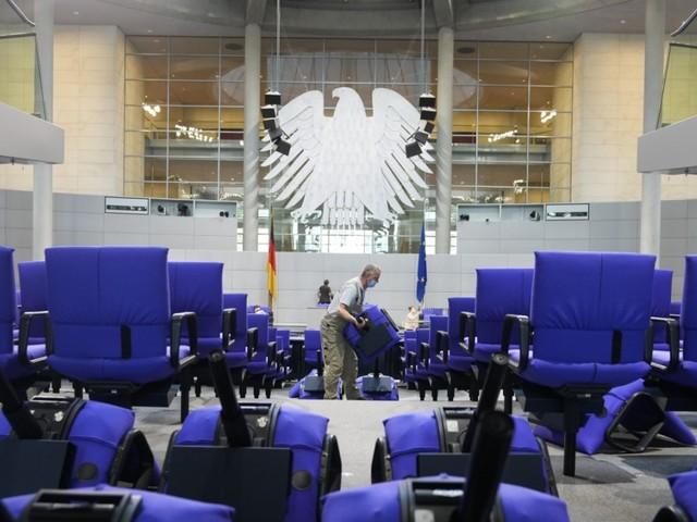 Konstituierende Sitzung des Bundestags: Wenn es plötzlich Streit um den Sitzplatz gibt