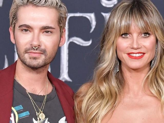 """Bill Kaulitz schwärmt von Klum: """"Zehre von Heidis und Toms Liebe wie er selbst"""""""