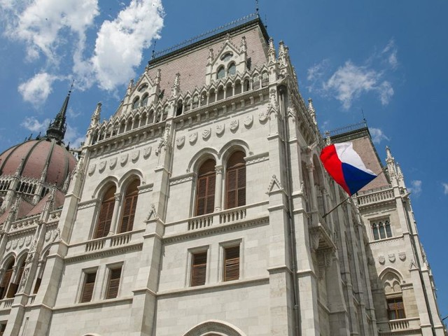 Eklat im tschechischen Parlament