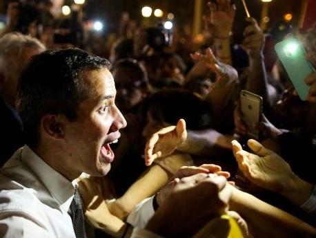 Krise in Venezuela: Guaidó ruft zum Karneval der Proteste auf