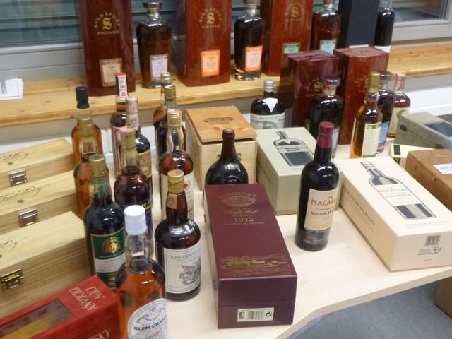 Konstanz: Zoll stellt Whisky im Wert von 40.000 Euro sicher