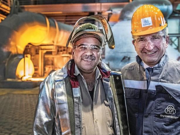 Stahlkonzern: Thyssenkrupp: Pinkwart sieht Milliarden-Investitionsbedarf
