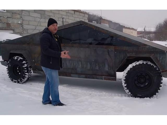 Russischer Cybertruck schon fertig: Garage 54 hat Teslas Pickup nachgebaut