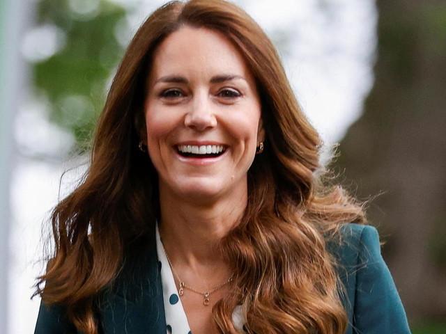 Ein besonderer Moment: Herzogin Kate eröffnet ein eigenes Institut