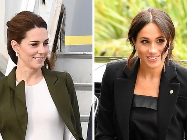 Herzogin Kate bei Zypern-Besuch: Klaut sie hier etwa Herzogin Meghans Look?