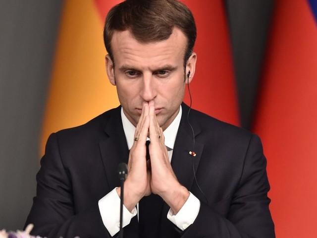 """Frankreichs """"Gelbwesten"""": Ratlosigkeit im Kreis um Macron"""