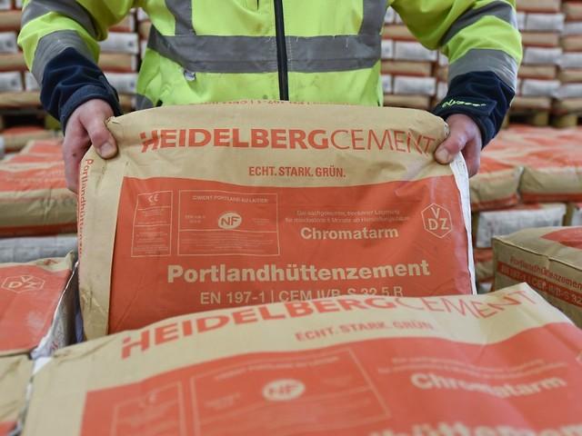 35 Prozent Sicherheitspuffer: HeidelbergCement mit Fünf-Prozent-Chance