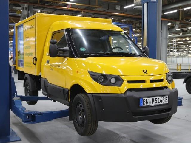 Elektrolieferwagen: Streetscooter startet Großserienproduktion