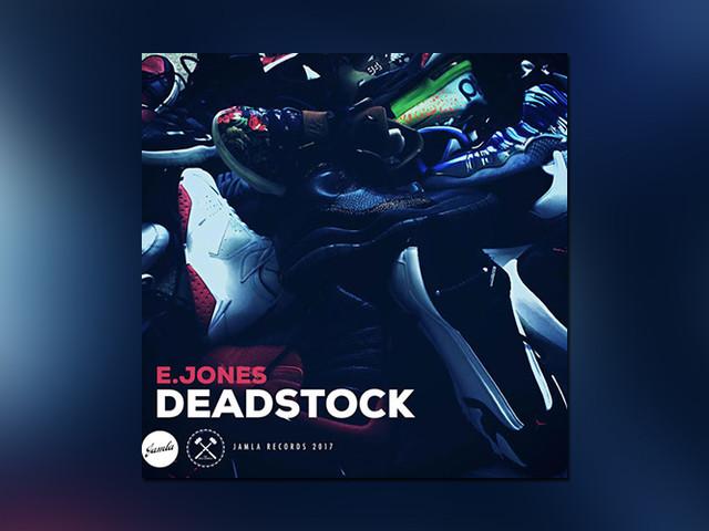 """E. Jones veröffentlich funky Beattape """"Deadstock"""" und frönt damit seiner Turnschuh-Liebe"""