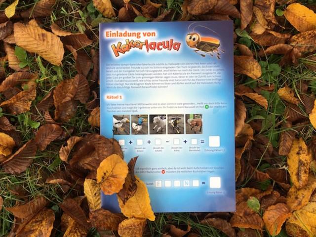 Ravensburger Spieleland veranstaltet im Oktober 2020 Rätsel-Rallye rund um Halloween