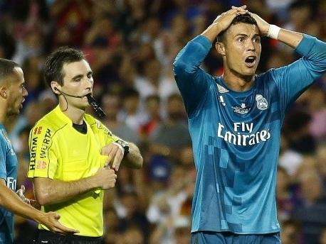 Ronaldo droht lange Sperre nach Angriff auf Schiedsrichter