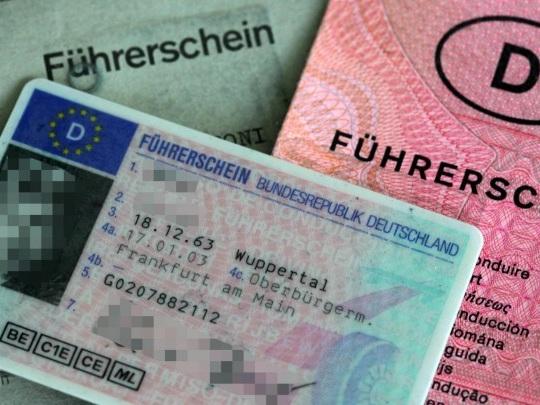 Verkehrsminister - Digitaler Führerschein startet - noch ohne Nutzung