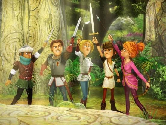 """""""Arthur und die Freunde der Tafelrunde"""" bei KiKa im Stream und TV: Wie geht es in Folge 26 der Animationsserie weiter?"""