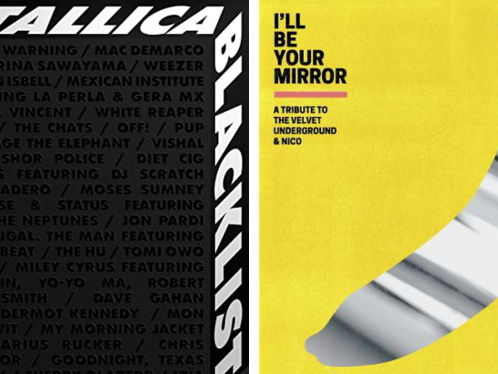 """The Metallica Blacklist"" vs. ""I'll Be Your Mirror"": zwei Tribute-LPs im Vergleich"