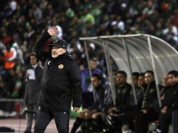 Fußball-Legende: Maradona muss Geldstrafe wegen Wutanfall in Mexiko zahlen