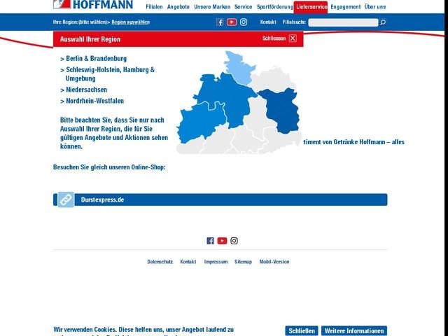 Lieferservice Berlin: DURSTEXPRESS von Getränke Hoffmann - Anderes ...