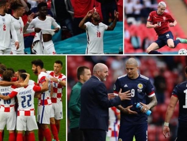 England Gruppensieger - Kroatien als Zweiter im Achtelfinale