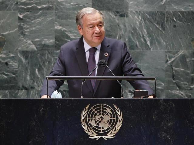 Vereinte Nationen: UN-Generaldebatte:Biden, der Bundespräsident&eine Boyband