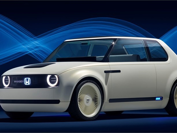 Knuffig und retrofuturistisch zugleich: Honda Urban EV Concept