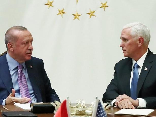 US-Präsident: Syrien-Krieg: Wie sich Trump und Erdogan duellieren