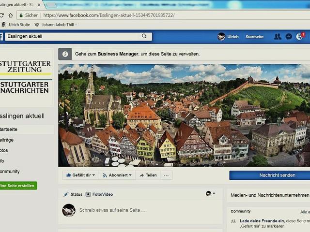 Esslinger Angebot: Esslingen aktuell – unser neuer Facebook-Auftritt für den Landkreis