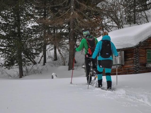 Niederthai im Ötztal: Skaten, Schießen und Schneeschuhwanderung