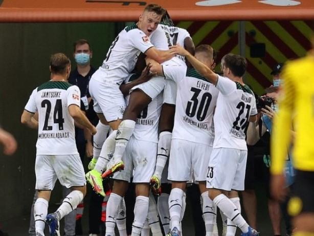 1:0 im Topspiel: Gladbach schlägt Dortmund