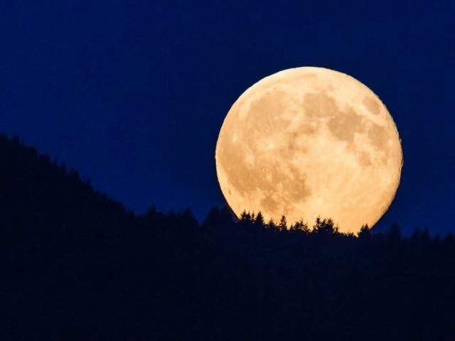 """Foto-Tipps für das Naturschauspiel: Heute Nacht ist """"Supermond""""! Wo Sie ihn am besten sehen können"""