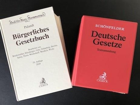 """Nach Prüfung von Nazi-Vergangenheit: """"Palandt"""", """"Schönfelder"""" und """"Maunz/Dürig"""" werden umbenannt"""