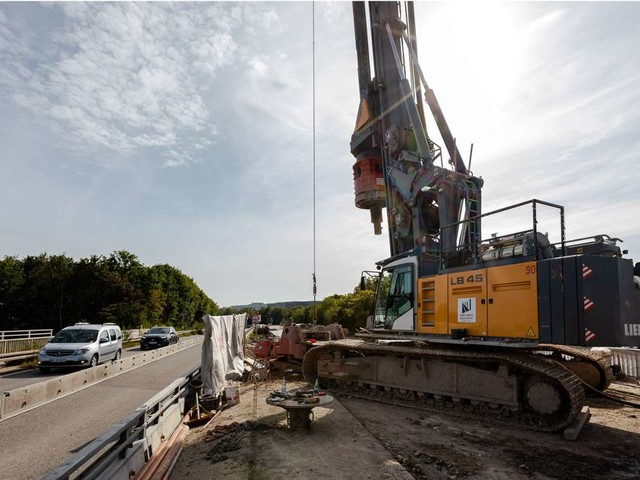 Brückenabriss bei Böblingen: Die A81 ist ab Freitag für Autos gesperrt