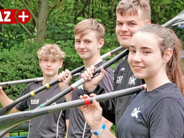 KANURENNSPORT: Mülheimer Quartett macht bei der DM Jagd auf das Halbfinale