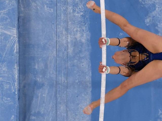 Olympia: Turnen: Seitz verpasst Medaille knapp