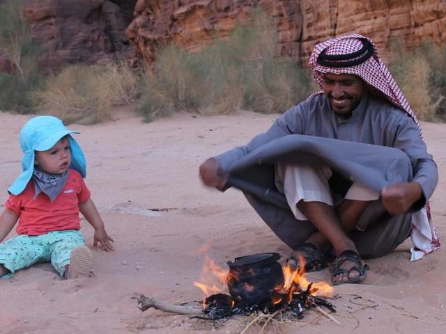 Wadi Rum: Wenn der Beduine zu sich nach Hause einlädt