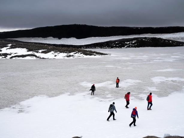 Erderwärmung: Klimakrise: Island erklärt den ersten Gletscher für tot